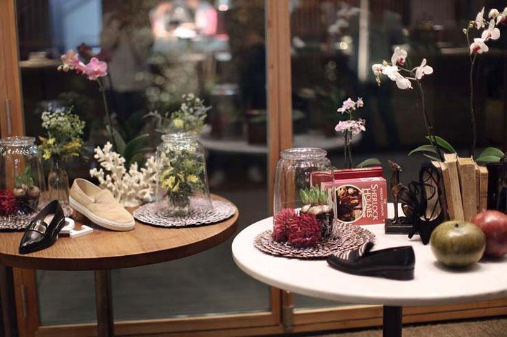 Decoración floral evento Krack | Bourguignon Floristas