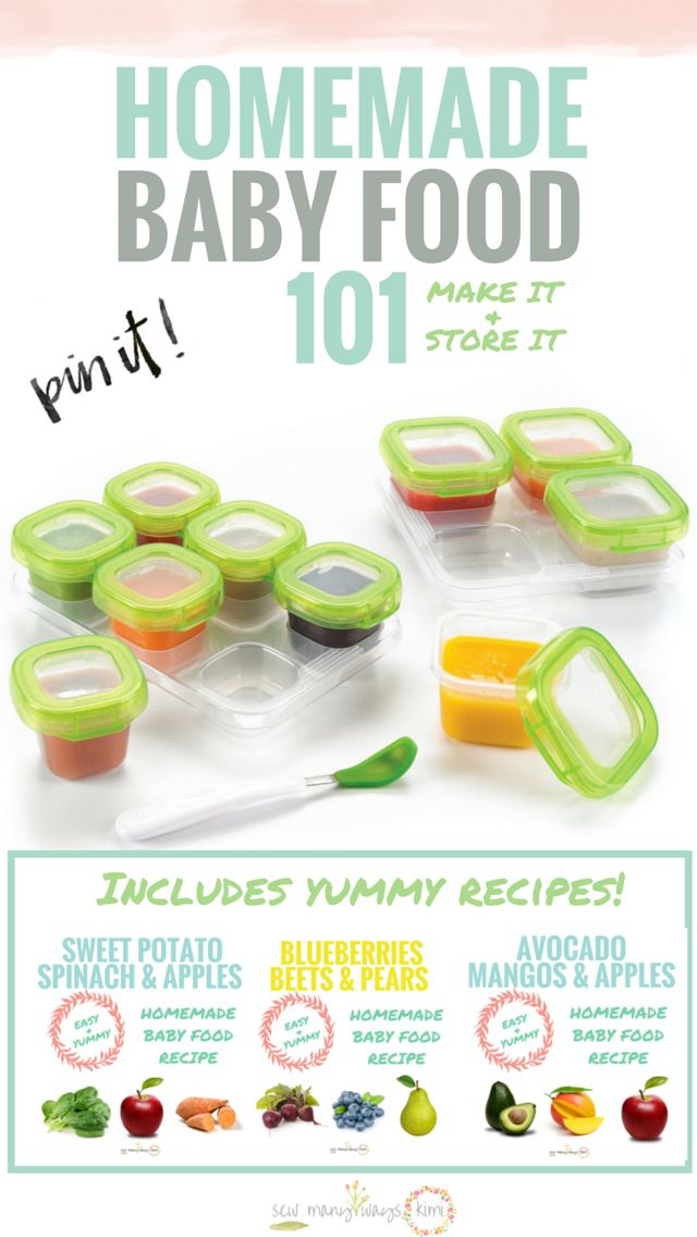 Homemade Baby Food 101