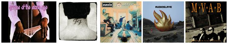 Musician Kandur looks back at 5 albums from Oasis, Audioslave, Queens of the…