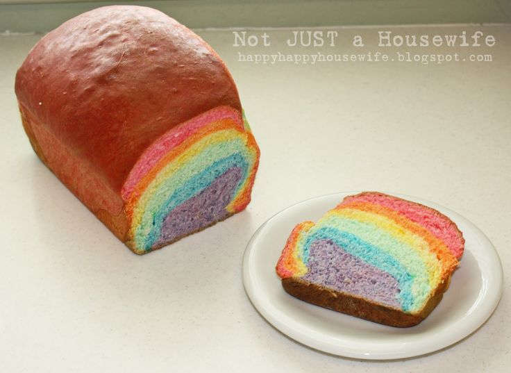 Rainbow Bread | Not JUST A Housewife