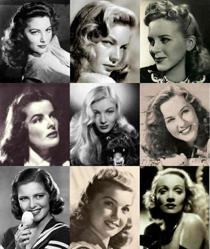 1940s wavy hairstyles