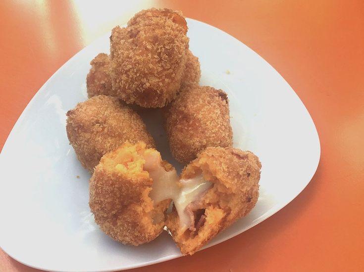 Croquettes de patate douce, brebis et coppa - La Polygraphe