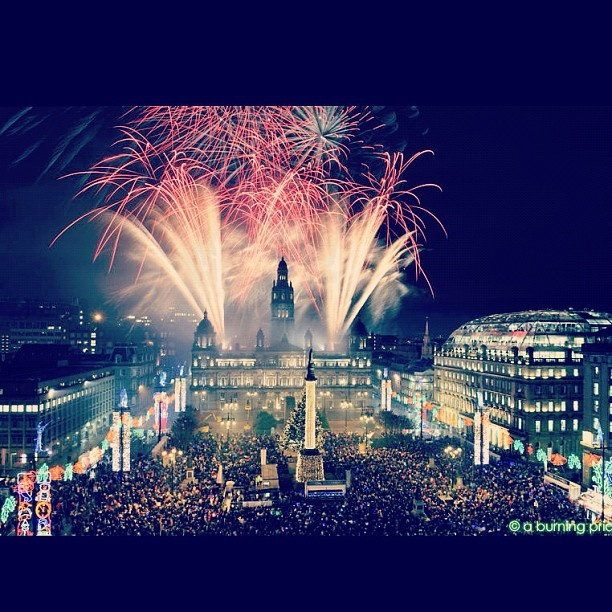 Glasgow Christmas Lights Switch-on | Glasgow  | Christmas in Glasgow  | Local attractions  | Scotland | Fireworks