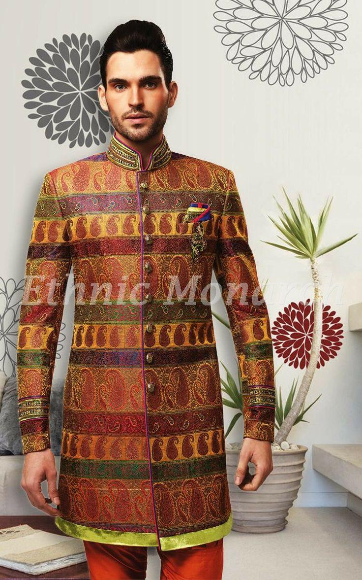 Colourful Indo Western