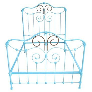 Check out this item at One Kings Lane! Full-Size Wrought Iron Bed Frame