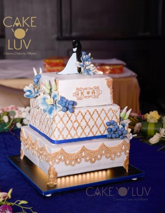 Cake Art By Shweta : 17 Best images about Moroccan Onlay Cakes on Pinterest ...