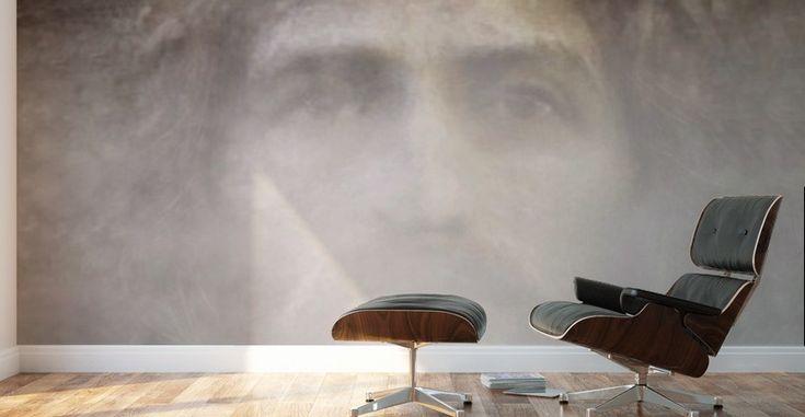 Christ face hidden in fog - ArtofCaelia  - Canvas
