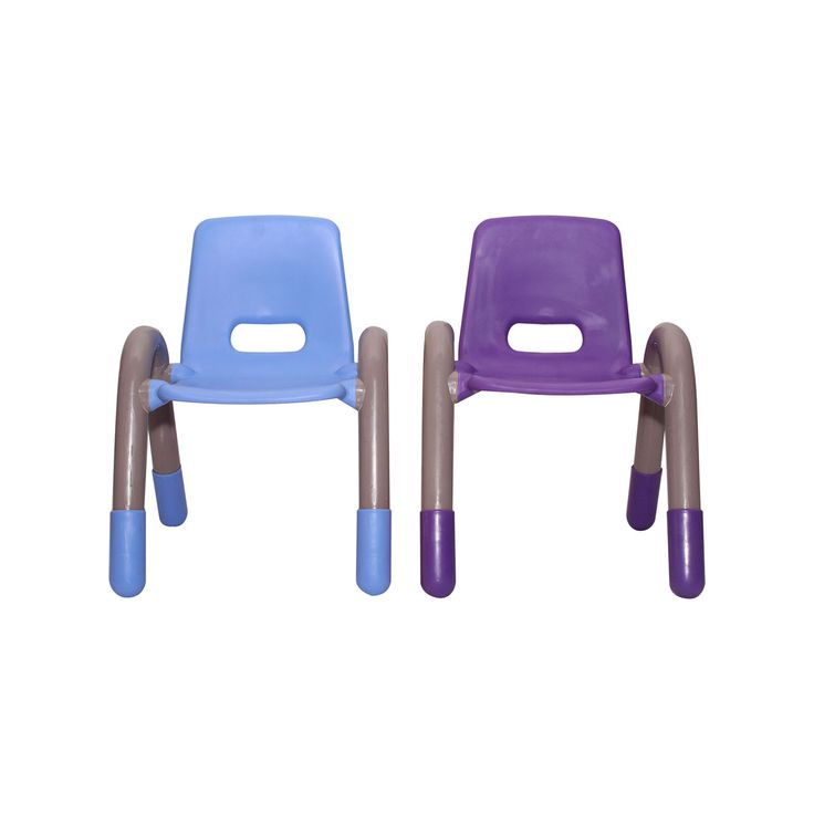 """VJ INTERIO BRIGHT SQUARE KIDS PLASTIC CHAIR-BLUE AND PURPLE PAIR Very durable and sturdy chair made with high quality and durable polyethylene for the little ones.  Safe and non-toxic plastic is used.  Very comfortable and strong backrest chair for the children ensures that your little one is seated in a perfect posture and is relaxed all the seating time.""""kids furniture"""" """"kids study chair"""" """"kids study table"""" """"study chair and table"""" """"study table for kids"""" """"kids table"""""""