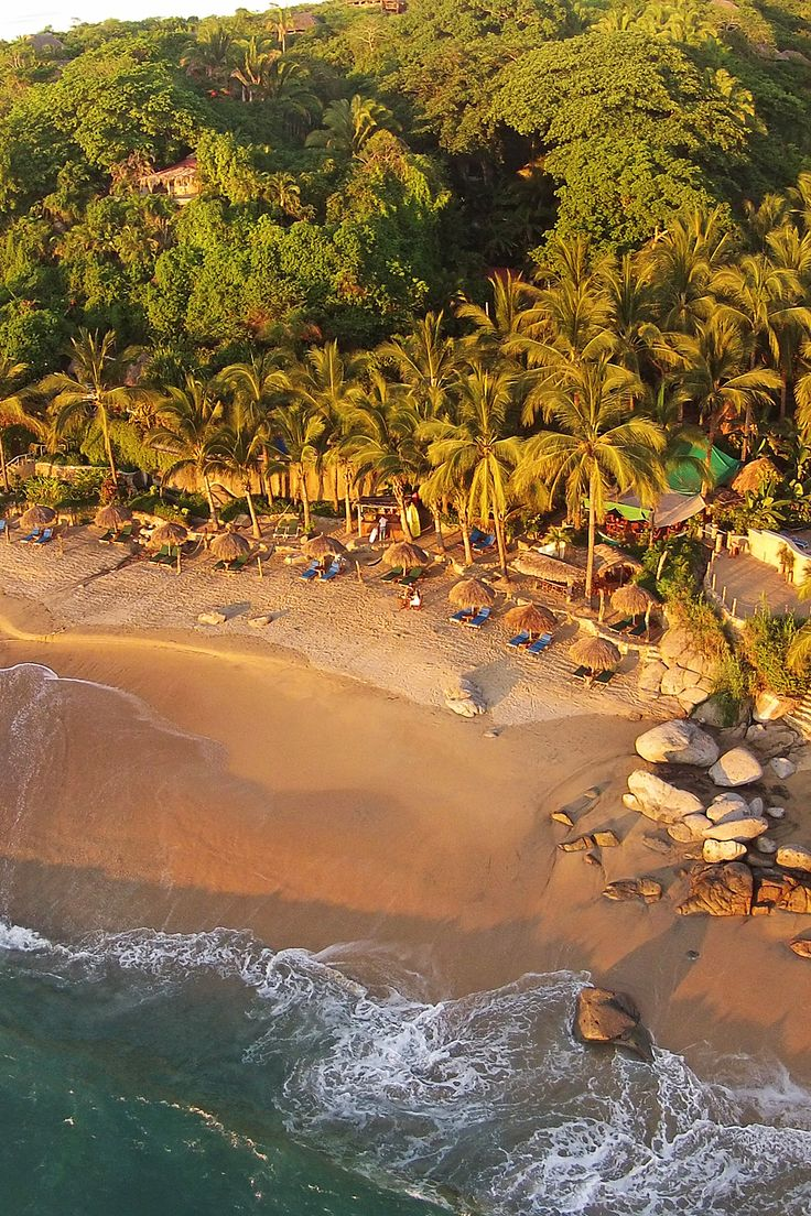 Playa Escondida, Mexico: romantic jungle retreat with a private beach. i-escape.com