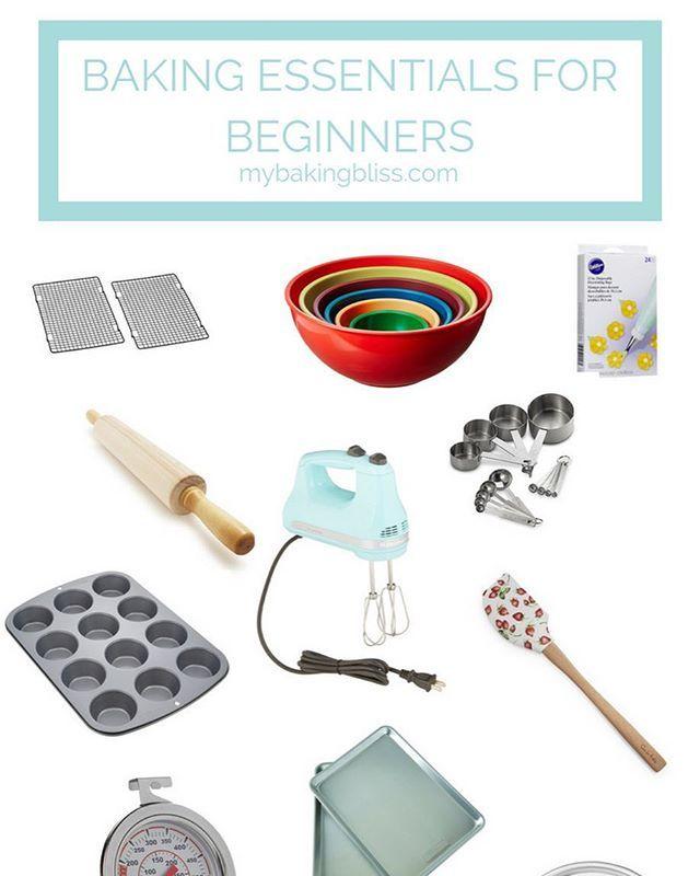 Baking Essentials For Beginners Baking Essentials Tools Baking