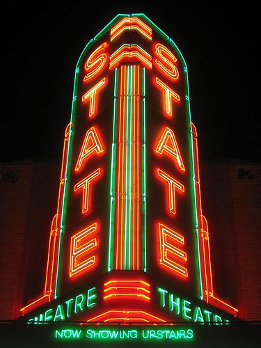 State Theater, Detroit, Michigan.