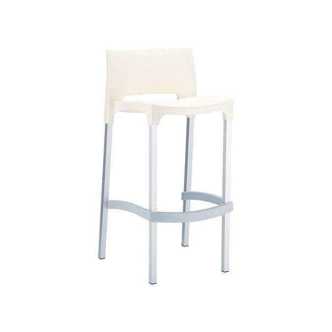WWW.MOBILIFICIOMAIERON.IT  - https://www.facebook.com/pages/Arredamenti-Pub-Pizzerie-Ristoranti-Maieron/263620513820232 - 0433775330 .Sgabelli  cod 9005 color bianco,  impilabili struttura in alluminio anodizzato e struttura in polipropilene espanso color bianco. Diversi colori disponibili Si tratta di sedie nuove, imballate e di ottima qualità made in italy. Sedie adatte ad arredi esterno bar, arredi esterno ristoranti, arredi esterni pub. Disponibilità illimitata. Spedizioni in tutta…