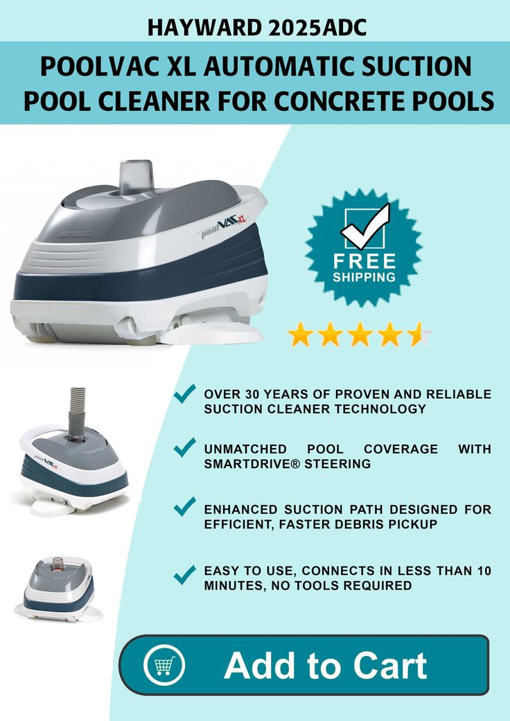 Best Above Ground Automatic Pool Vacuum - Above ground swimming