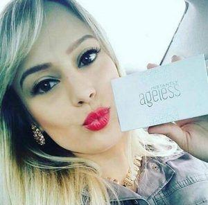 A box of 50x 0.3ml Jeunesse® Instantly Ageless™ eye cream sachets  #Jeunesse #JeunesseLatam #InstantlyAgeless #health #makeup #beauty