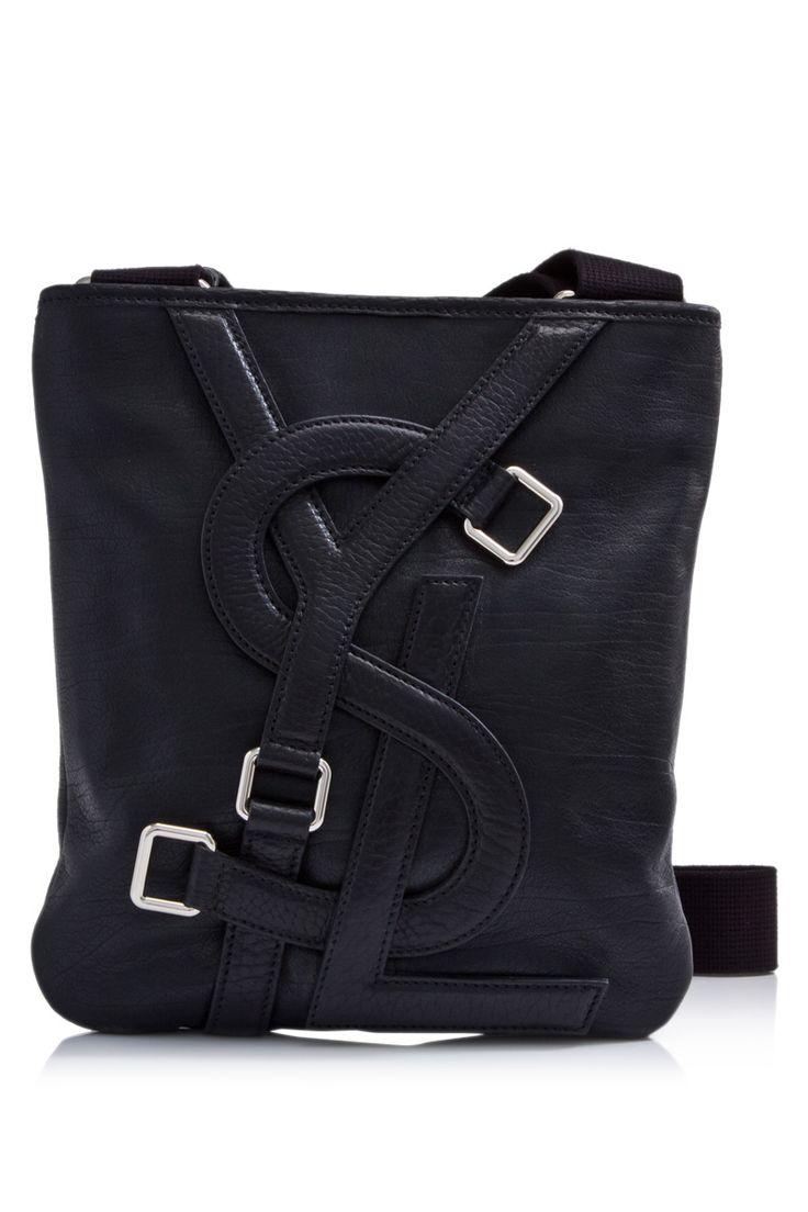 Ysl Vavin Messenger Bag In Black Classic Leather | 4 my man ...