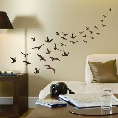 Wall Decal - Flock of Birds