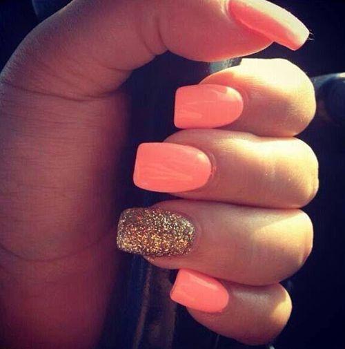 How pretty!22 Beautiful Summer Nail Designs: