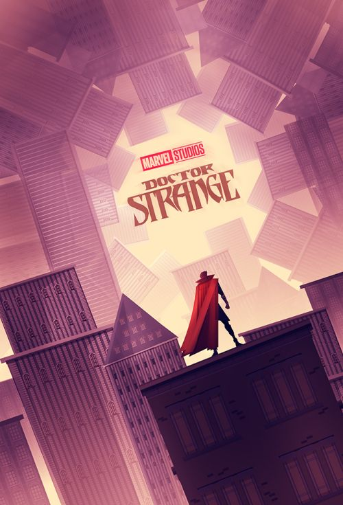 Doctor Strange Poster - Created by Cristhian Hova