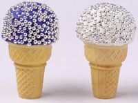 paint the cones with edible paint and these could be rockstar mics