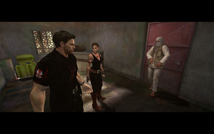 Umbrella Characters Pack / Screen 009 / Mods for Resident Evil 5(RE5) / Characters - Chris Saphari and Sheva BSAA