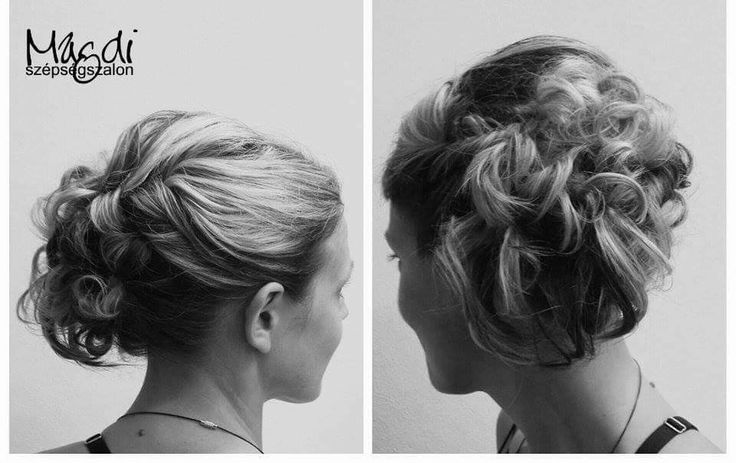 Szereted feltűzve a hajad? Egy-egy jeles eseményre kötelező :) www.magdiszepsegszalon.hu  #konty #hairbun