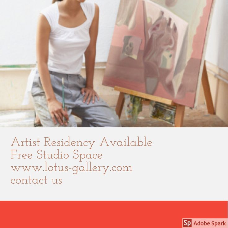 Artist residency available at lotus gallery  — We love professional or student artists who are dedicated to their art.  If you want to have a free public studio space, share what you are making with people, and get to submit for exhibitions at the gallery, send us ur interest in residency. You will need to volunteer some studio time during which u work on ur own art at the gallery! :)   Ask us more  At gallerymariam@gmail.com