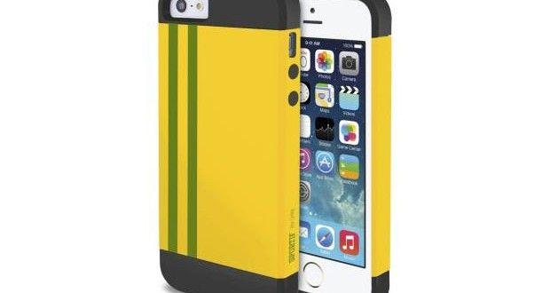 Du jaune du vert avec cette coque iphone coupe du monde 2014.