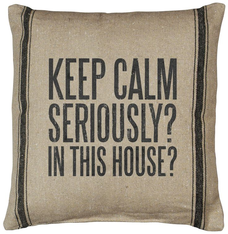 Rustic Keep Calm (D) Accent Pillow | POSH365INC