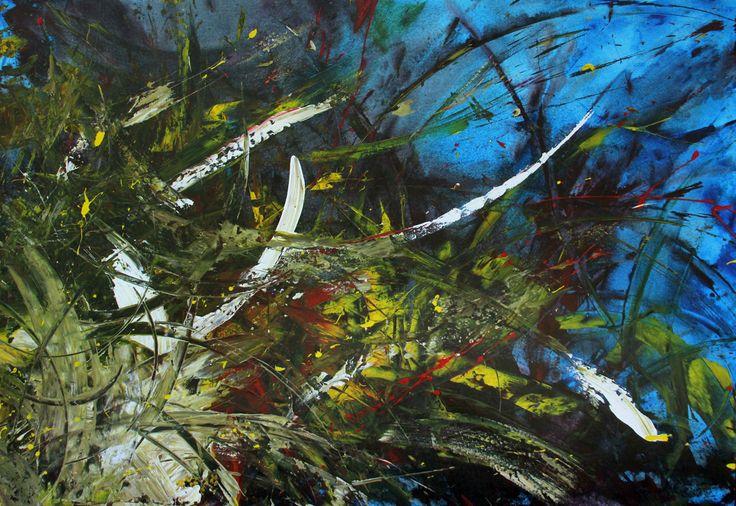 Acrylic on canvas - 1:80 mt x 1:20 mt. Gustavo A. Villegas H guscausaefecto@gmail Cel: (57) 313 432 7154 Fijo: 460 12 45