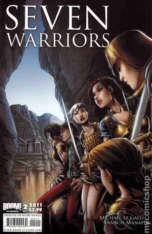 Seven Warriors (2011 Boom Studios) 2