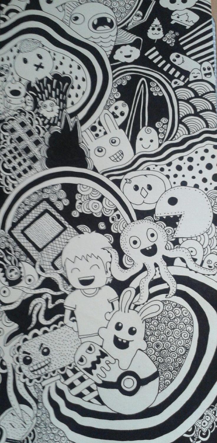 Kresba - perom