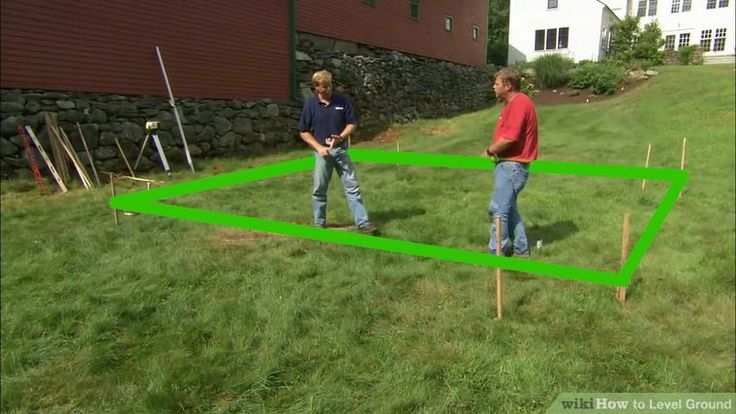 How to Level Ground: 14 Steps (with Pictures) - wikiHow