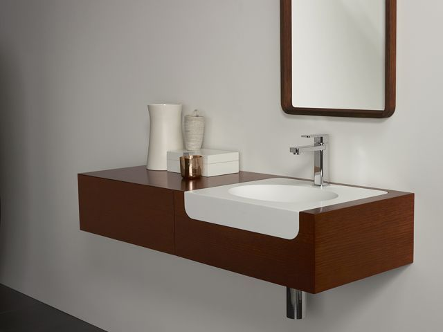 Corian Bathroom Vanity 46 best corian - baths images on pinterest | bathroom ideas, baths