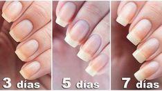 recetas naturales para el crecimiento de las uñas asi como endurecer las uñas fragiles y escamadas
