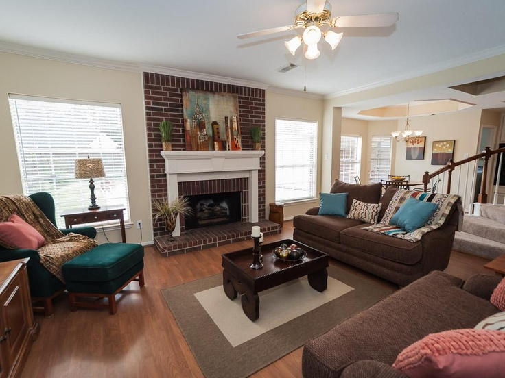 Jonas Brothers Texas Home Stunning Rustic Living Room: Living/Family Room Shows Comfort And Ease Of Relaxation