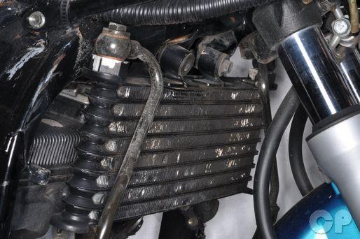 GSX600F Suzuki Katana 600 GSX 750 Online Repair Manual oil cooler