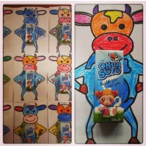 cow craft idea for kids (4)
