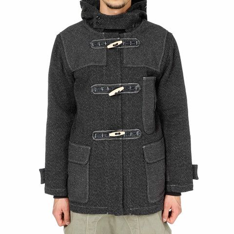 Kendo Canvas Duffle Short Coat – HAVEN