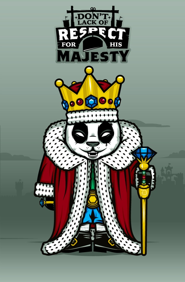 """""""DOKU"""" The Giant Panda  KING  Don't lack of respect for his majesty."""