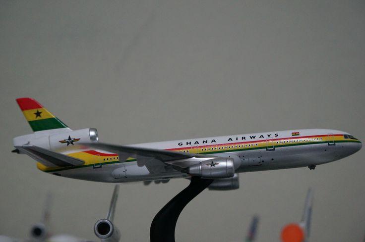 Ghana Airways McDonnell Douglas DC-10-30