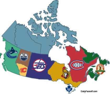 Canadian hockey fans love to argue that our city or province boasts the best hockey players, but I guess Atlantic Canada is more of a fan of their regional beer then hockey!