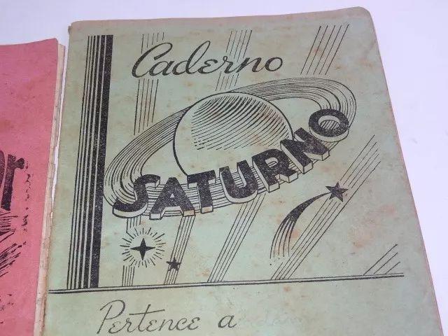 Lote Caderno Escolar Supimpa Anos 50 Cartilha Estojo Parker - R$ 45,00 em Mercado Livre