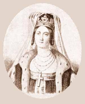 Ольга (христианское имя - Елена) (ок. 920-969) - великая княгиня киевская, правительница Киевской Руси (945-969), жена киевского великого князя Игоря, мать князя Святослава Игоревича, первая христианка среди киевских князей. По преданию, происходила из древнего славянского рода