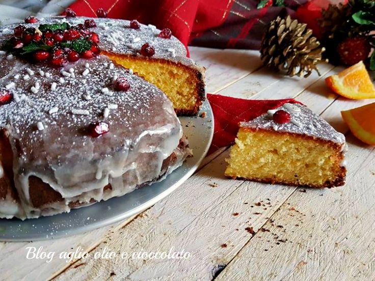 TORTA+ALL'ARANCIA+di+Natale