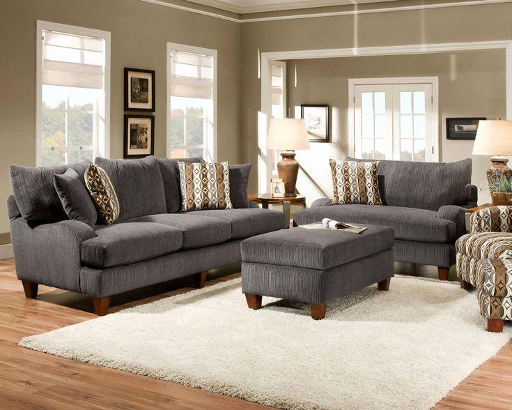 best 25  dark gray sofa ideas on pinterest