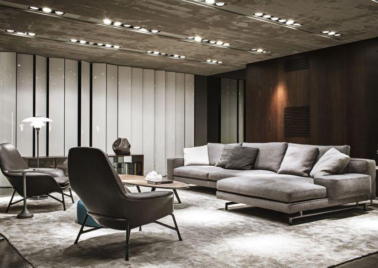 ähnliche Optik von Decke, Teppich und Polster der Möbeln