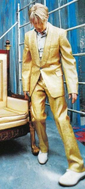 David Bowie - Blender mag shoot. Ph: Frank Ockenfels