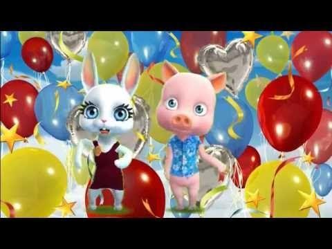 Zoobe Зайка С днем рождения-ия-ия поздравляю тебя!!!! - YouTube