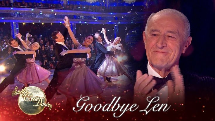 Len's Last Dance to 'May Each Day' by Andy Williams - Strictly Come Danc...