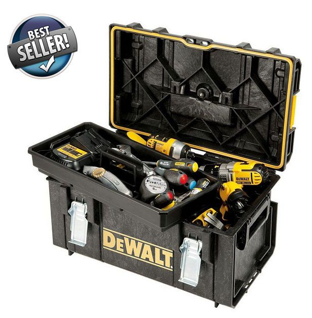 Dewalt Tough System DS300 Tool Box Heavy Duty Large Storage Unit DWST08203